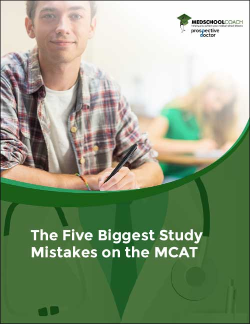 The Five Biggest Study Mistakes on the MCAT